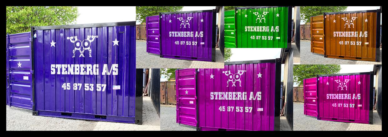 Stærke priser på containere!